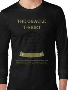 Fair-trade; The Oracle T-shirt Long Sleeve T-Shirt