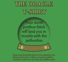 Postbox; The Oracle T-shirt by EcoSteph