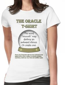 Smoosh; The Oracle T-shirt Womens Fitted T-Shirt