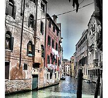 Venetian Houses. Photographic Print