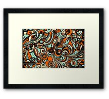 Abstract Mirage Framed Print