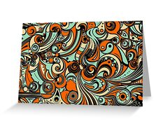 Abstract Mirage Greeting Card
