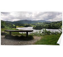 Overlooking Rydal Water Poster