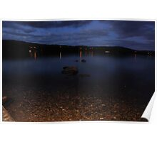 Windermere At Night Poster