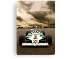 Williams FW07 Canvas Print