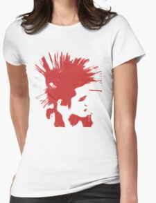 Punk, Mohawk Womens Fitted T-Shirt