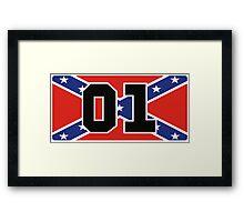 General Lee 01 - Rebel Flag Framed Print