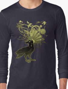 Kamikaze Raven Long Sleeve T-Shirt