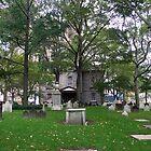 St Paul's Chapel, Manhattan, New York by Bev Pascoe