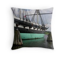 cannons of the constellation Throw Pillow