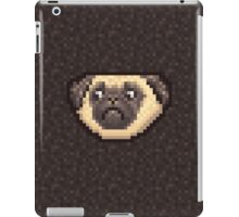 8 bit pug iPad Case/Skin