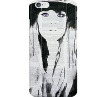 Unknown woman. iPhone Case/Skin