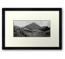 Glen Etive Panorama Framed Print