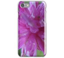 Pink flower macro iPhone Case/Skin