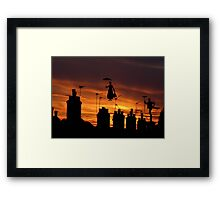They're at it again! Framed Print