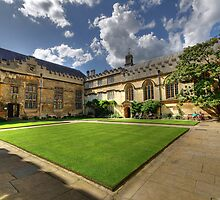 Jesus College Oxford by Derek Green