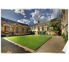 Jesus College Oxford Poster