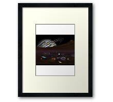 Moonbase Framed Print