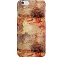 Burnt paper texture iPhone Case/Skin
