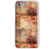 Burnt paper texture iPhone Case/Skin