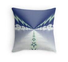 Angles Highway Throw Pillow