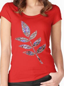 Leaf Women's Fitted Scoop T-Shirt