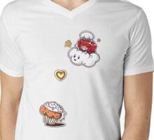 your mine forever cupcake! Mens V-Neck T-Shirt