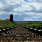 Colorado Railroad Track by John Windsor
