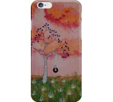 Tire Swing in the Sunset iPhone Case/Skin