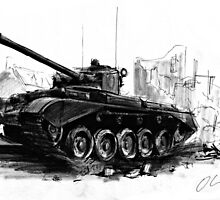 A34 Comet Tank by olivercook