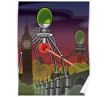 The Martians Take Parliament Poster