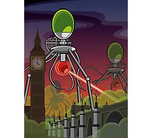 The Martians Take Parliament Photographic Print