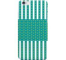 Yellow dots iPhone Case/Skin
