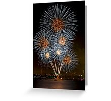 The Bouquet | New Years Eve | Sydney Harbour Greeting Card