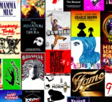 Musicals!!! Sticker