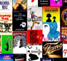 Musicals!!! Sticker