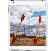 Route 66 -  Twin Arrows iPad Case/Skin