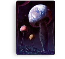 Planet Fungus Canvas Print