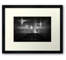 He Comes For You Framed Print