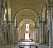 The Tombs,Fontevraud Abbey  by Sheila Laurens