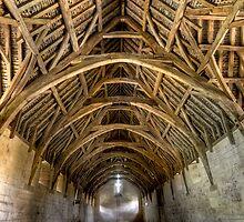 Tithe Barn by Richard Majlinder