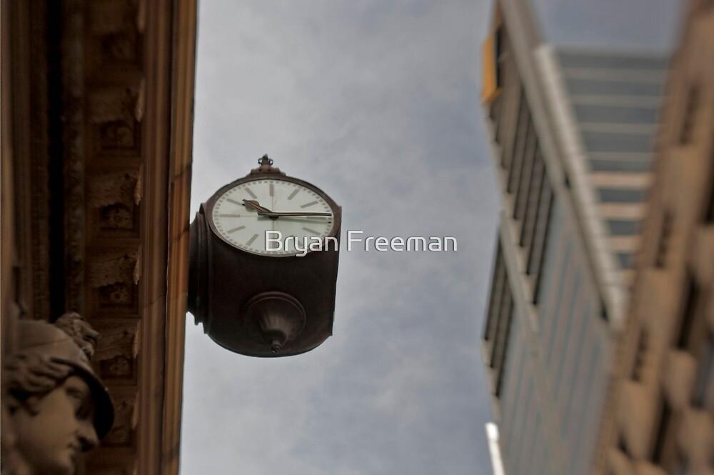 Time Piece - Sydney - Australia by Bryan Freeman