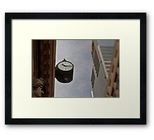 Time Piece - Sydney - Australia Framed Print