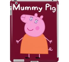 Mummy Pig iPad Case/Skin