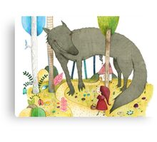 Red Ridinghood Canvas Print