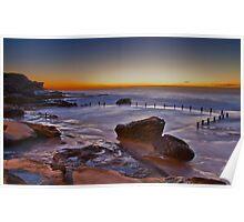 Mahon Pool Sunrise - Maroubra - NSW - Australia Poster