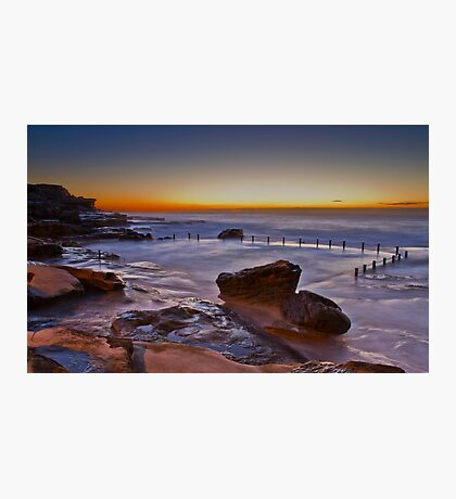 Mahon Pool Sunrise - Maroubra - NSW - Australia Photographic Print