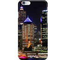 Circular Quay at Night - Sydney - Australia iPhone Case/Skin