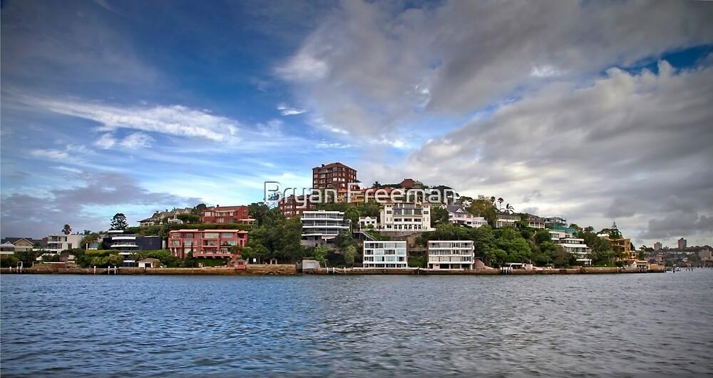Point Piper - Sydney Harbour - Australia by Bryan Freeman