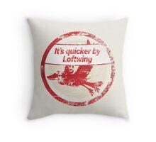 It's quicker by Loftwing - Zelda Skyward Sword Throw Pillow